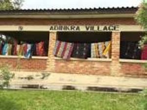 nice places to visit in ghana= ntonso adinkra village